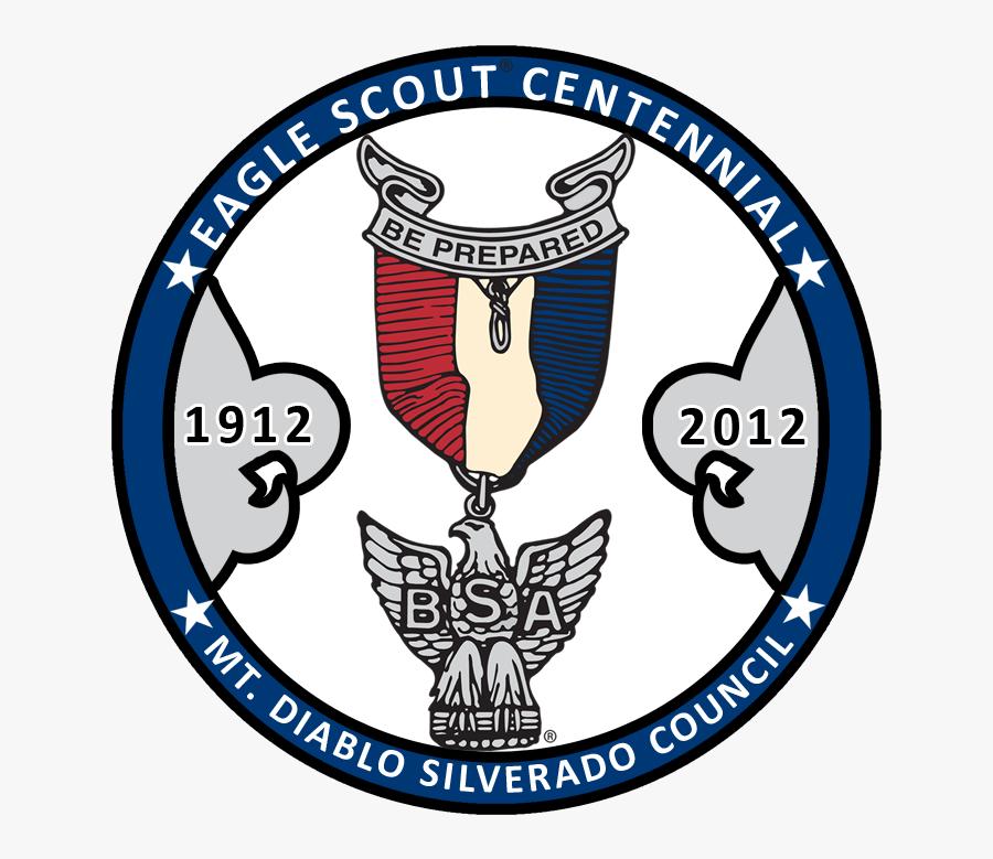 Eagle Scout Centennial Celebration Dinner - Emblem, Transparent Clipart