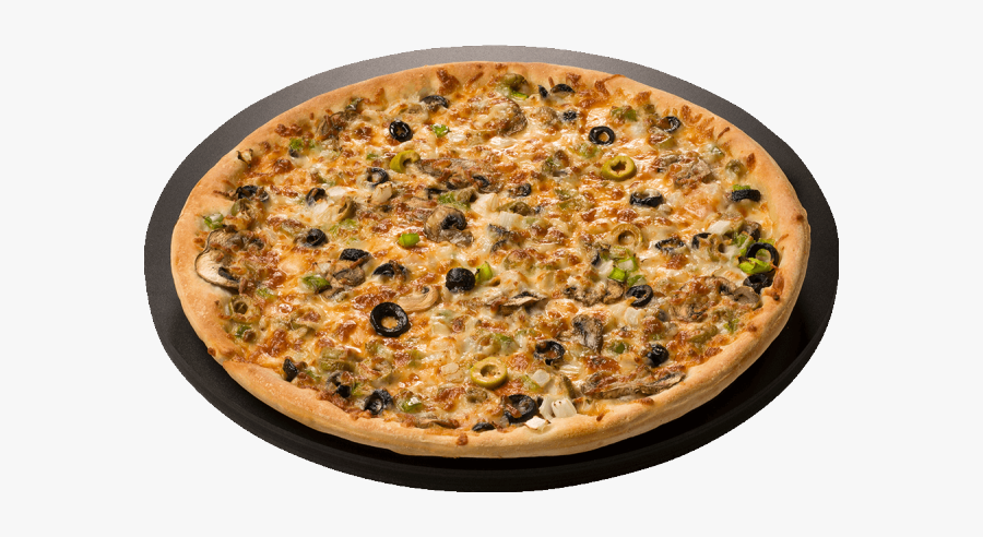 Beef And Mushroom Pizza, Transparent Clipart