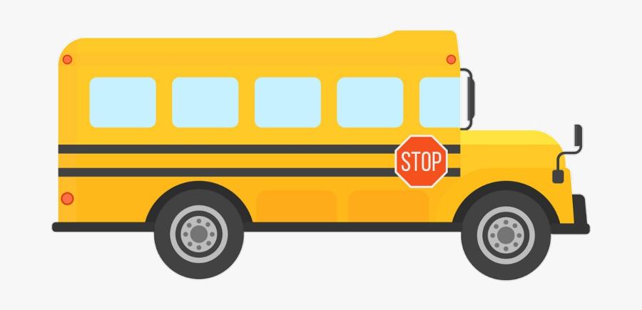 Bus School Student باص المدرسة Freetoedit - Clip Art Yellow School Bus ,  Free Transparent Clipart - ClipartKey