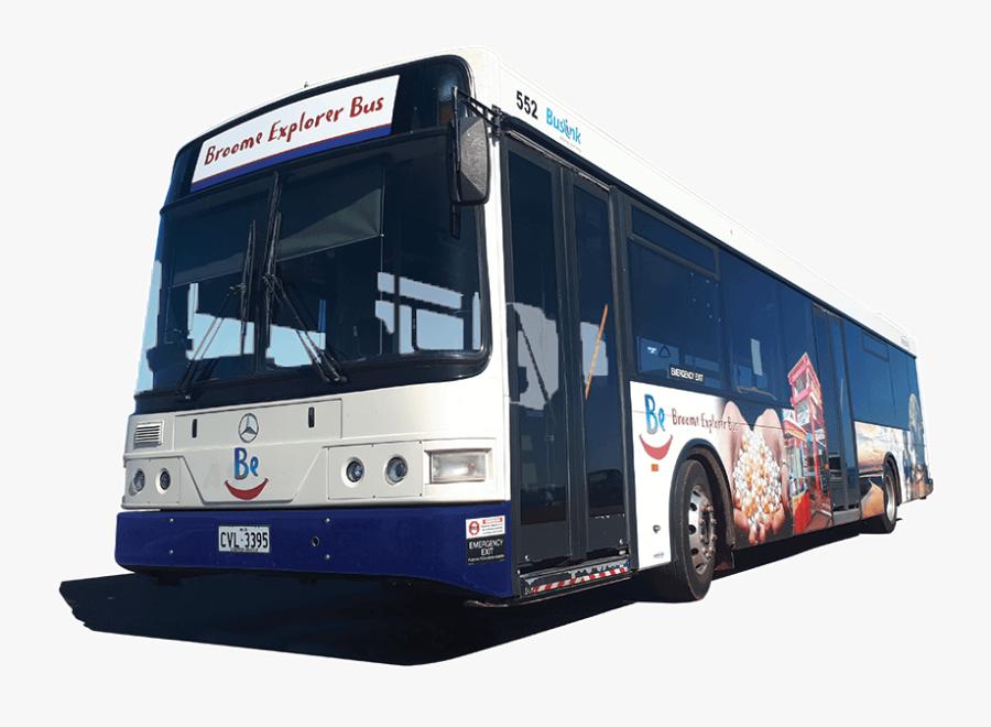 Broome Explorer Bus Bebus - Airport Bus, Transparent Clipart