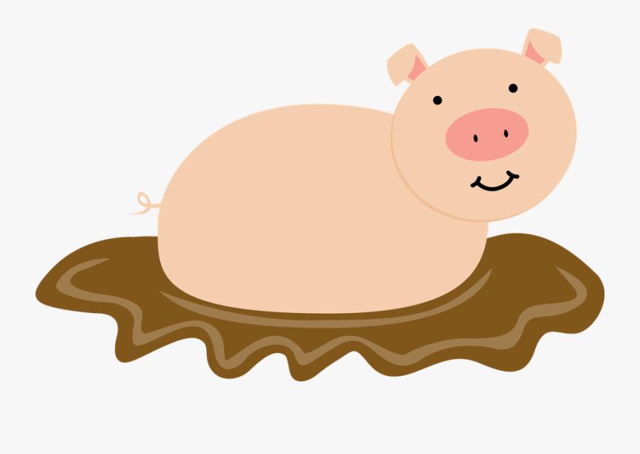 Muddy Hog Cartoon Clipart Png Transparent, Transparent Clipart