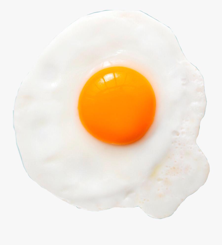 #omlette #egg #yolk #meal #ftestickers #food #eat - Fried Egg, Transparent Clipart