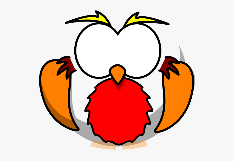 Rainbow Clipart Owl - Owl Eyes Drawing Cartoon, Transparent Clipart