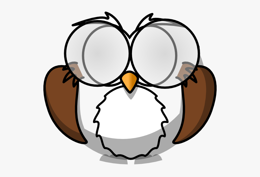 - Suspicious Owl 2 Clip Art At Clker Com Vector Clip - High Resolution  Coloring Book Images Free , Free Transparent Clipart - ClipartKey