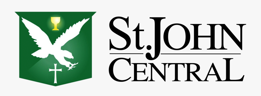 Transparent John Clipart - St. John Central High School, Transparent Clipart