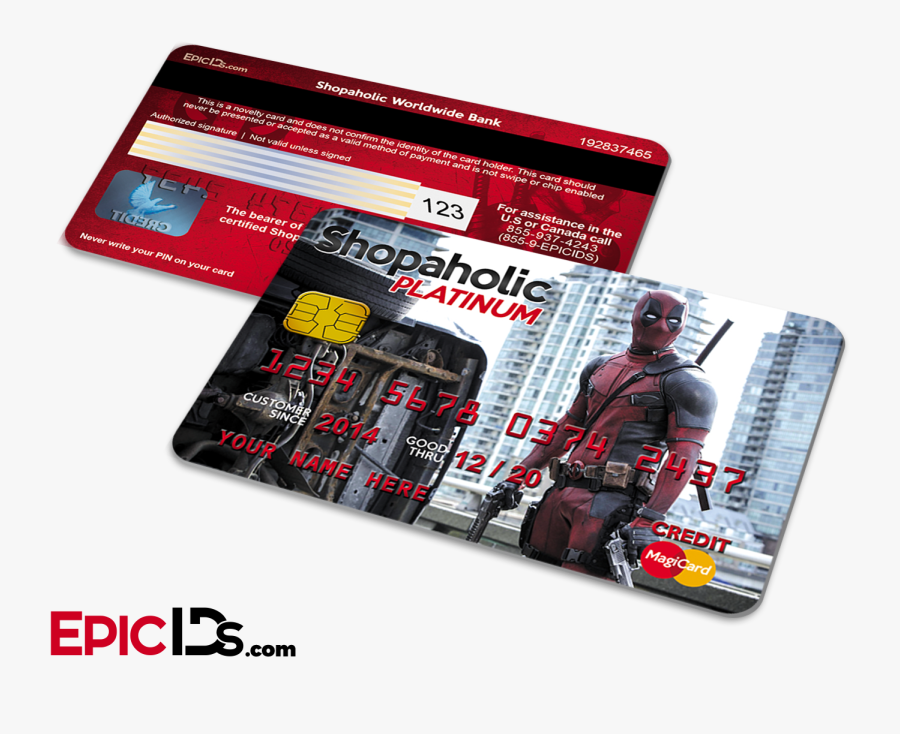 Credit Card Ids, Transparent Clipart