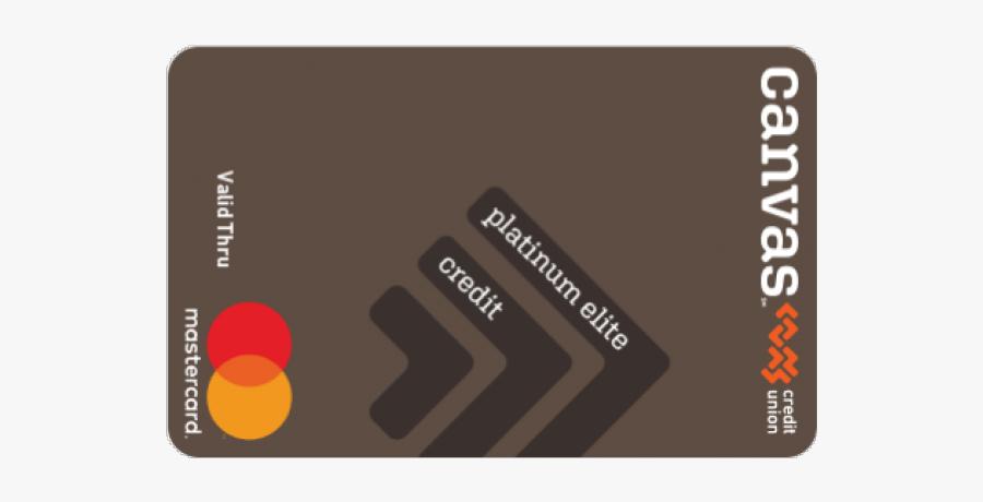 Mastercard Clipart Debit Card - Canvas Credit Union Debit Card, Transparent Clipart