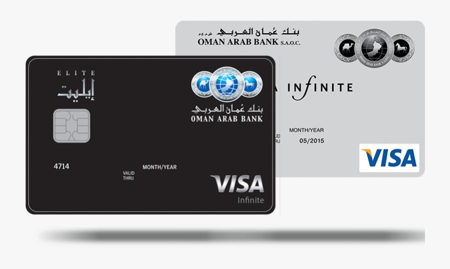 Sindbad Card Oman - Arab Bank Black Credit Card, Transparent Clipart