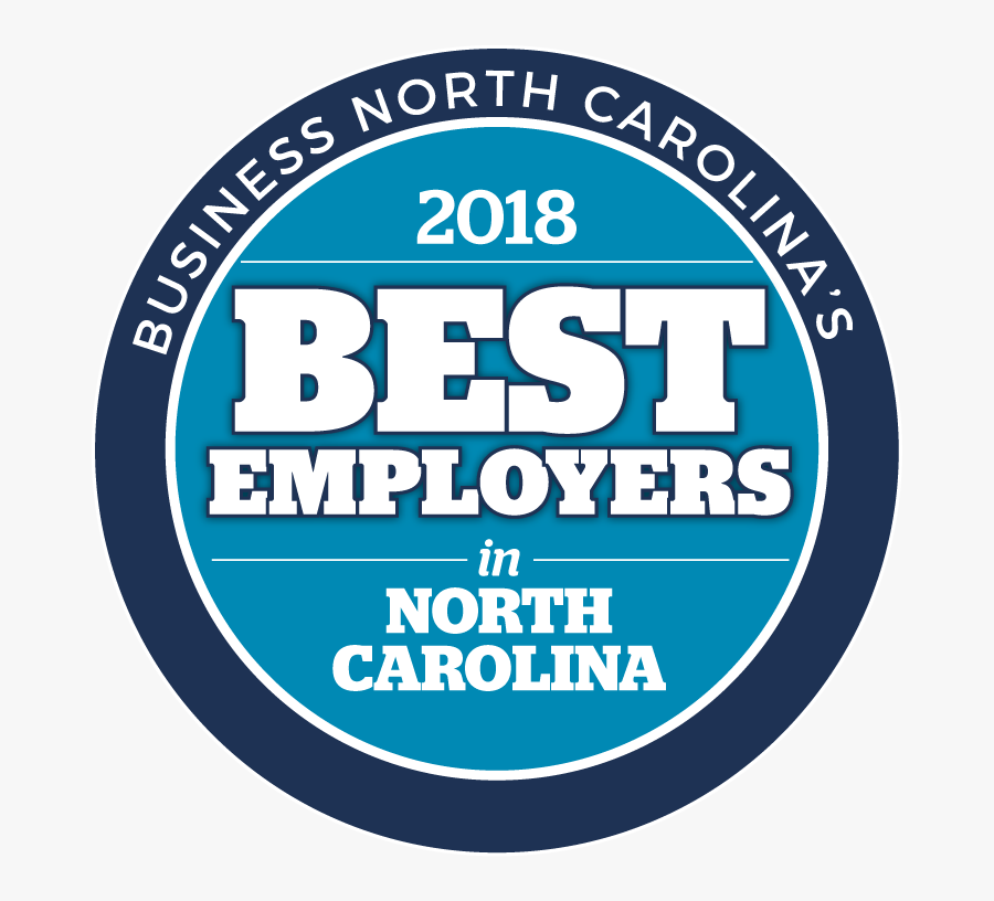 The Survey And Awards Program Was Designed To Identify, - 2019 Best Employers In North Carolina, Transparent Clipart
