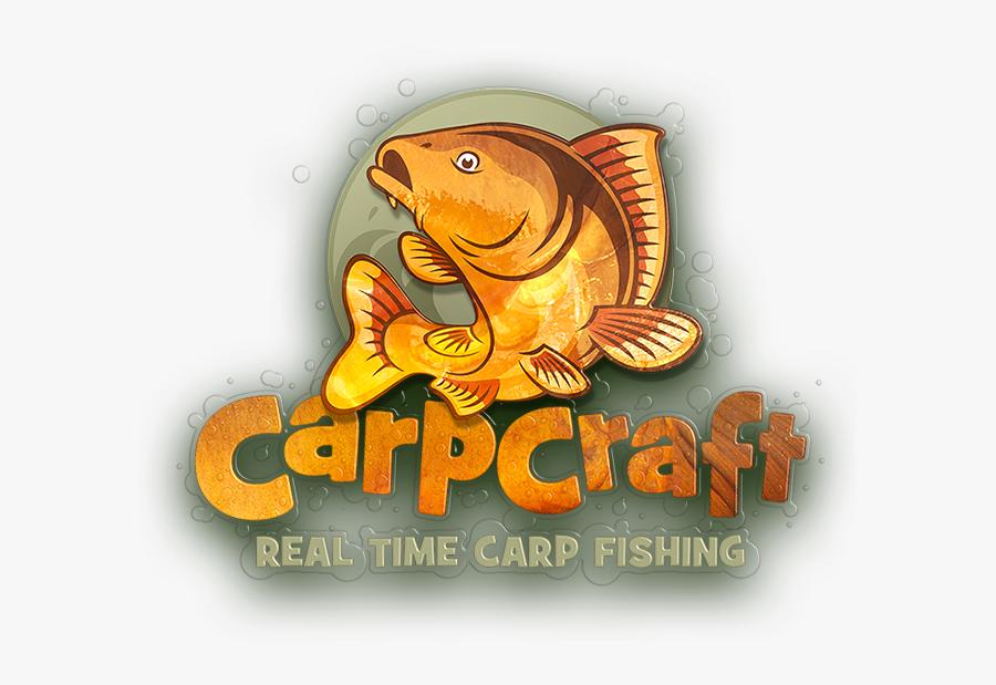 Fisherman Clipart Caught Fish - Carp Fish Carp Fishing Logo, Transparent Clipart
