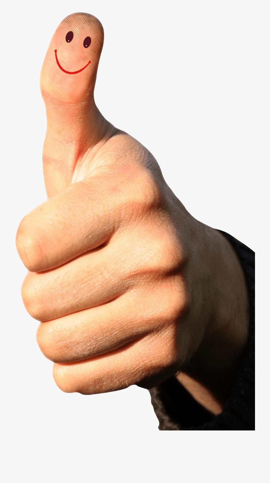 Transparent Png Man Arms Up - Transparent Background Thumbs Up Png, Transparent Clipart