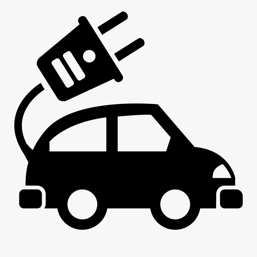 Electric Car Ecological Transport Comments - Electric Vehicles Icon Png, Transparent Clipart