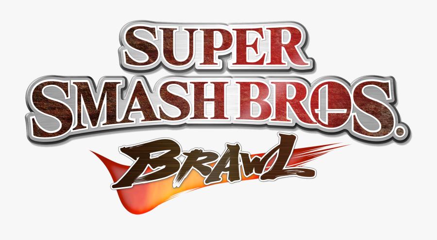 Super Smash Bros Logo Png - Super Smash Bros Brawl Logo, Transparent Clipart