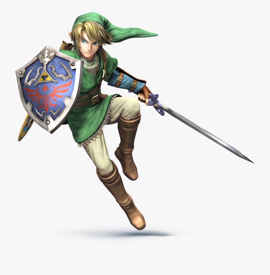 Link Smash 4 Png - Link Legend Of Zelda, Transparent Clipart