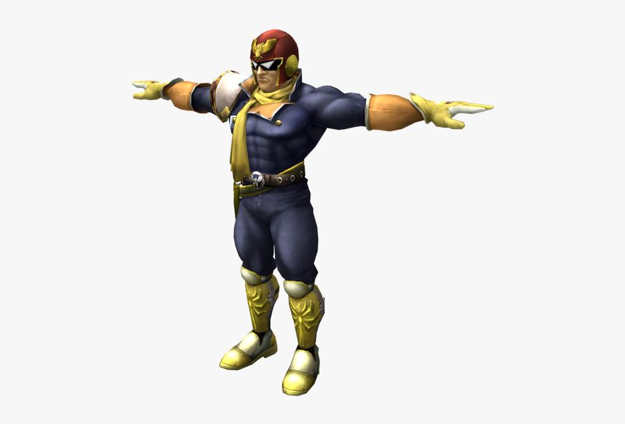 Clip Art Captain Falcon Png - Captain Falcon Character Smash Bros, Transparent Clipart