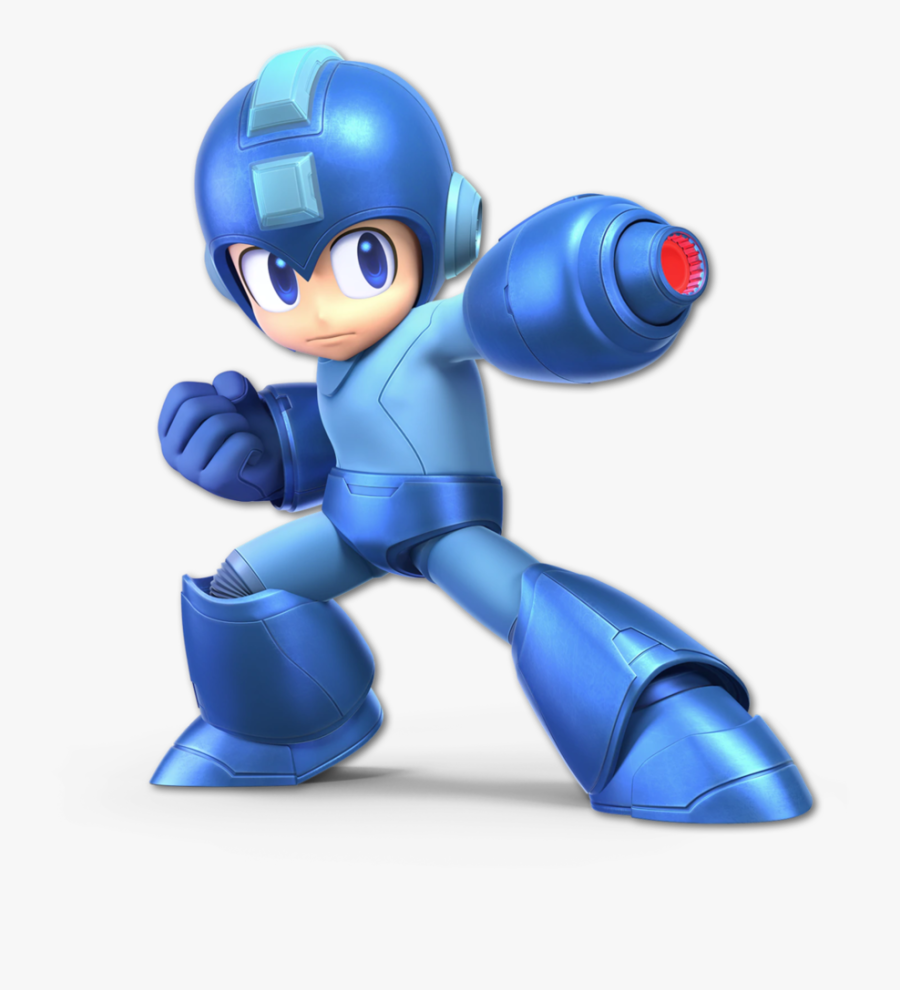 Super Smash Bros - Megaman Super Smash Bros Ultimate, Transparent Clipart