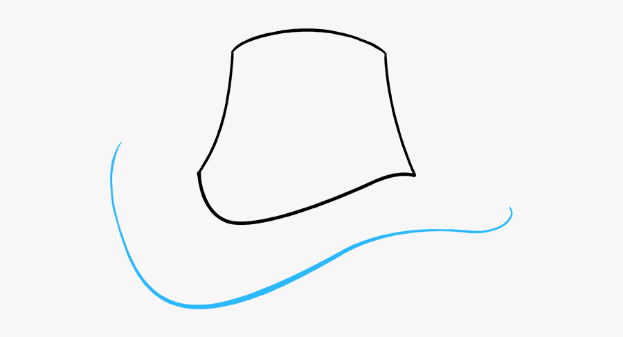 How To Draw A Cowboy Hat - Cowboy Hat, Transparent Clipart