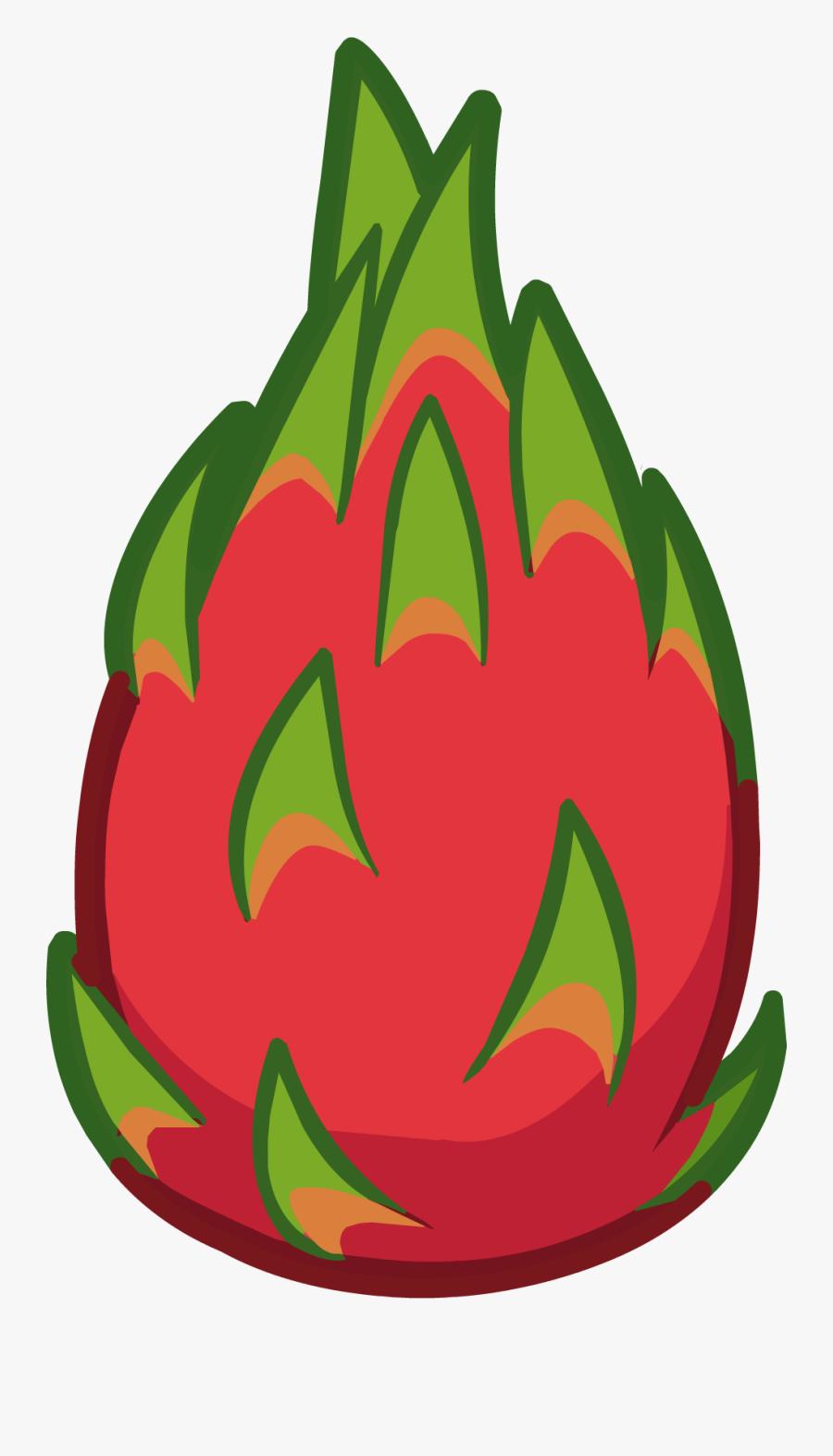 10 Dragon Fruits - Dragon Fruit Icon Png, Transparent Clipart