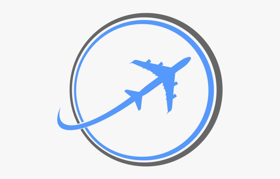 Plane Logos Travel Design - Air Plane Logo Png, Transparent Clipart