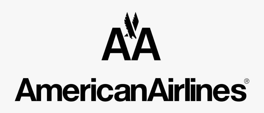 American Airlines Aa Logo White, Transparent Clipart