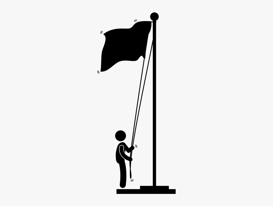 """""""  Class=""""lazyload Lazyload Mirage Cloudzoom Featured - Flag Raising Icon, Transparent Clipart"""