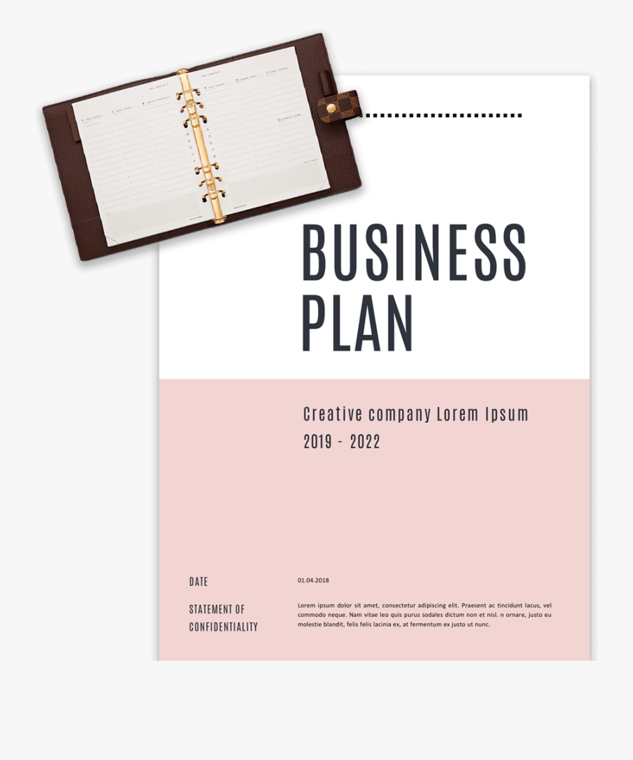 Clip Art Business Plan Templates In - Business Plan Front Page Design, Transparent Clipart