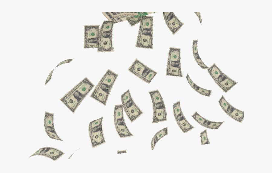 Money Currency Converter Rain - Money Rain Gif Png, Transparent Clipart