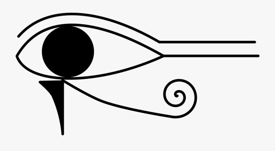 Ancient Egypt Eye Of Horus Eye Of Ra Egyptian - Egyptian Hieroglyphics Png, Transparent Clipart