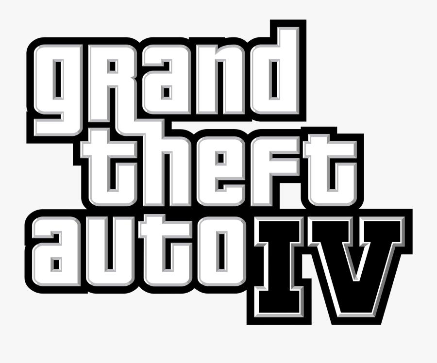 1cf10b Grand Theft Auto Iv Logo - Grand Theft Auto Iv, Transparent Clipart