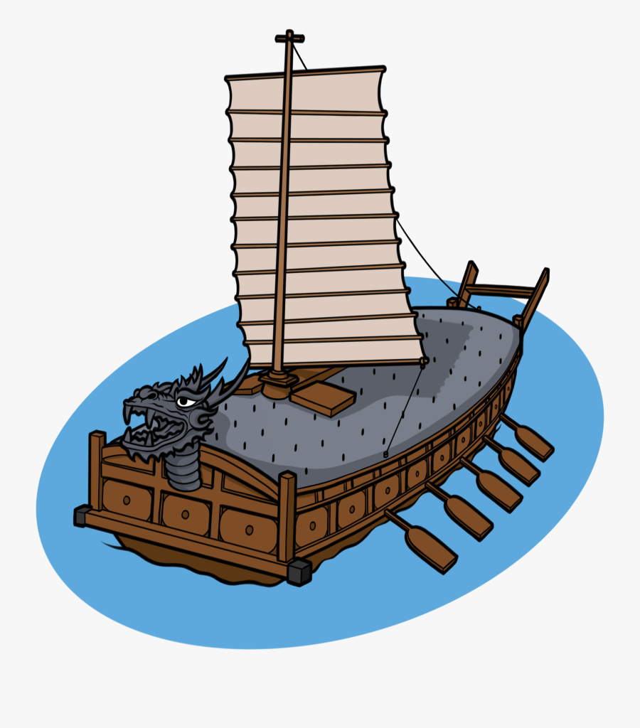 Ship Clipart Shipping - Turtle Ship Clipart, Transparent Clipart