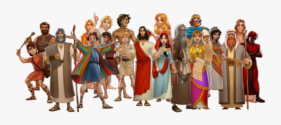 Bible Characters Png - Bible Characters, Transparent Clipart