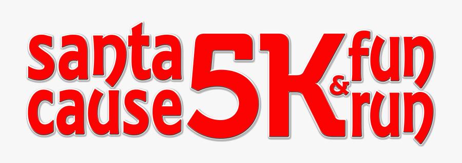 Santa Cause 5k & Fun Run, Transparent Clipart