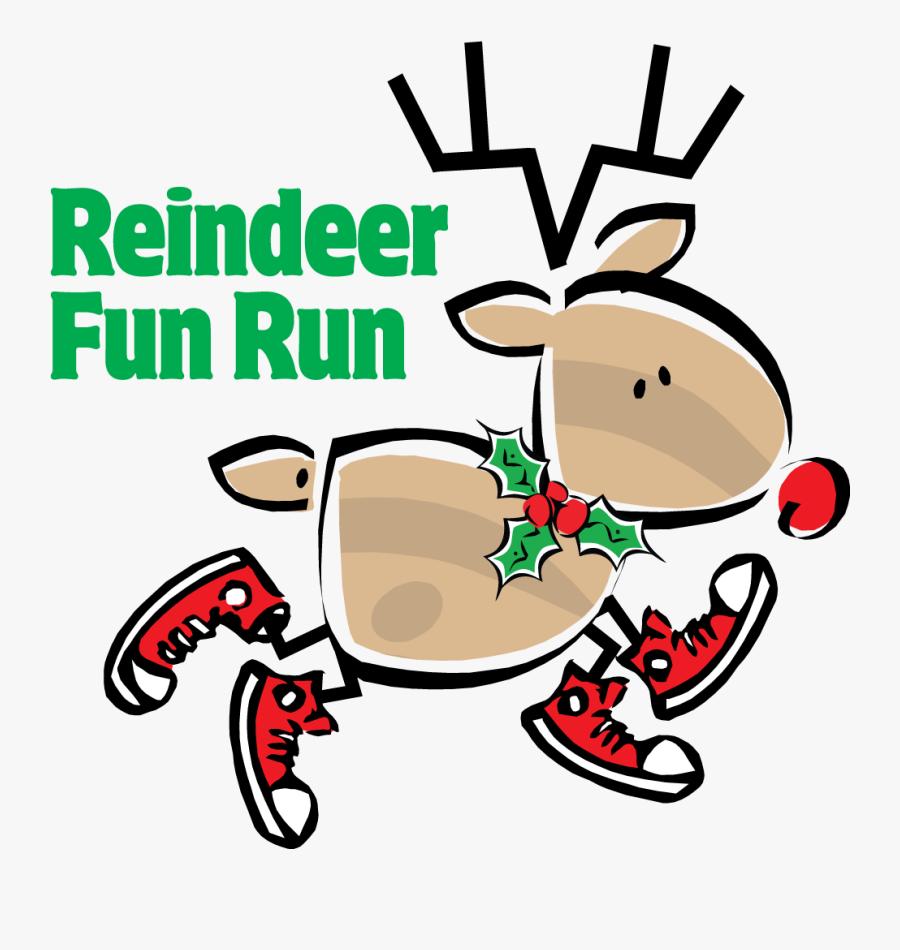 K Fun Dec - Reindeer Run Clipart, Transparent Clipart