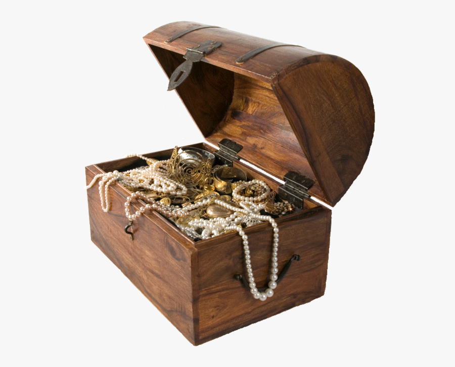 Treasure Chest Png - Pirate Party Treasure Chest, Transparent Clipart