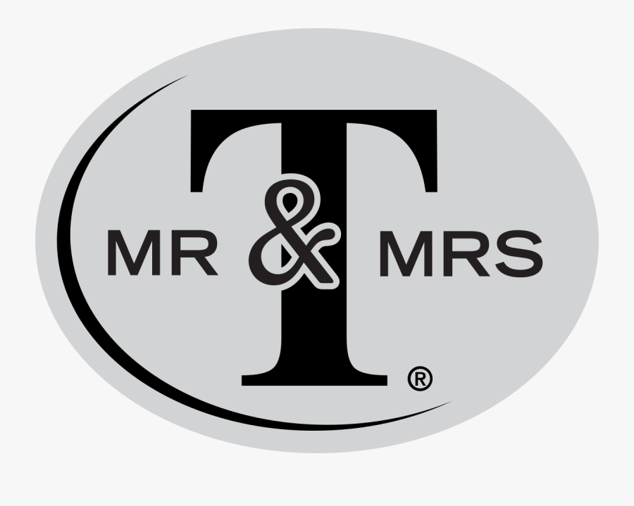 Mr And Mrs T Logo, Transparent Clipart