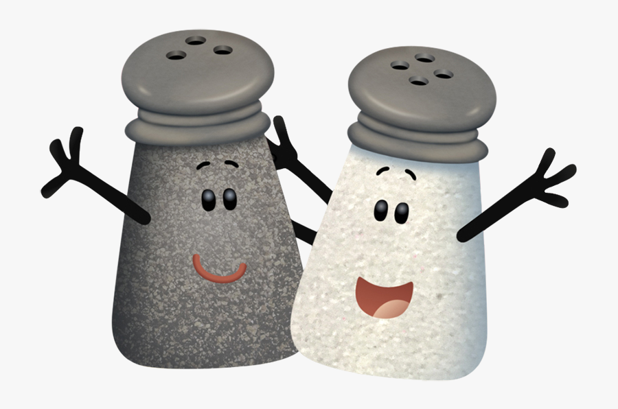 Nickipedia - Blues Clues Mr Salt And Mrs Pepper, Transparent Clipart