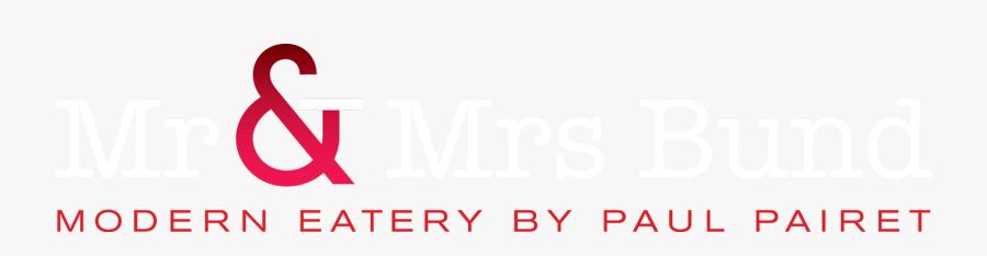 Mr & Mrs Bund Logo, Transparent Clipart