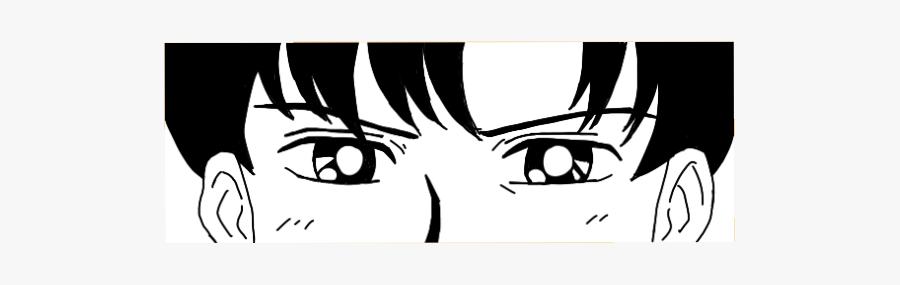 #kawaii #cute #black #manga #anime #boy #goth #png - Cartoon, Transparent Clipart