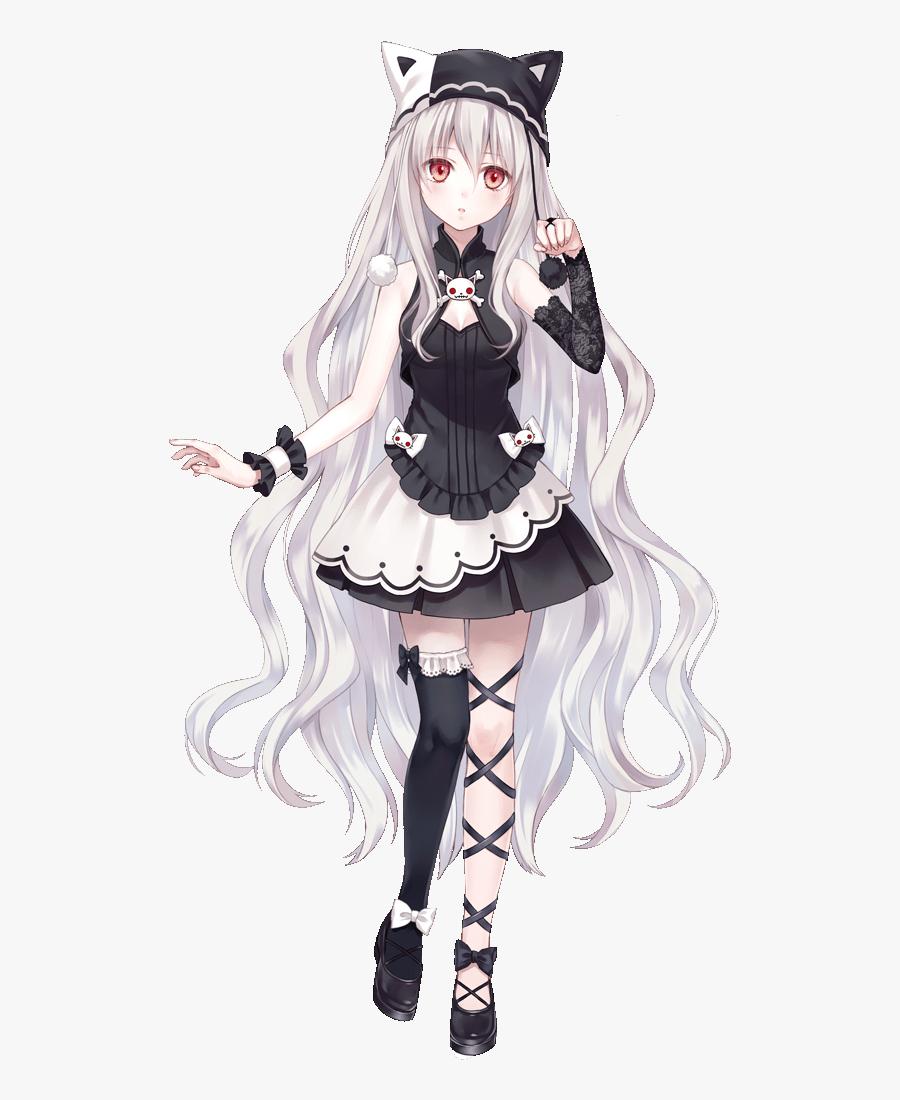 مماثل باركوا تلميع hoodie white hair anime girl