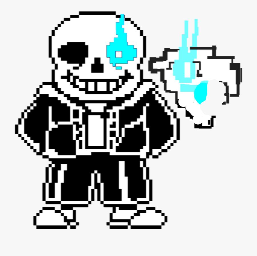 Sans The Skeleton Copy Png Megalovania Sans Memes - Transparent Background Sans Sprite Transparent, Transparent Clipart