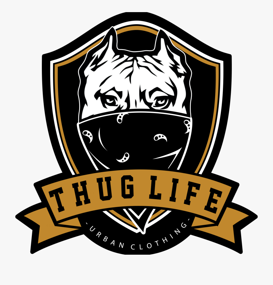 Thug Life Png Transparent - Thug Life Urban Clothing, Transparent Clipart
