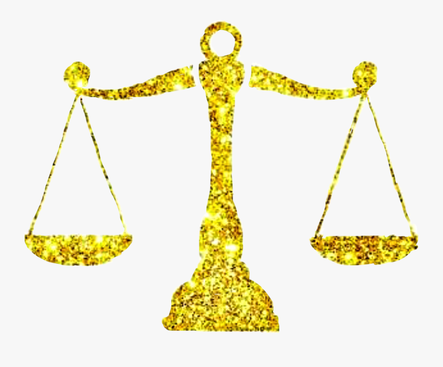 #gold #golden #glitter #scales #libra #zodiac #freetoedit - Illustration, Transparent Clipart