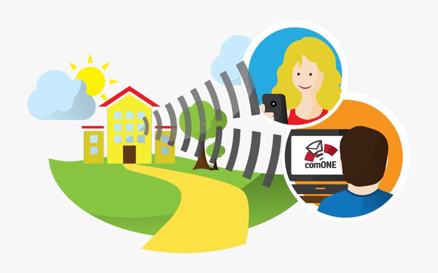 Mail Clipart Communication - Mass Communication Animated, Transparent Clipart