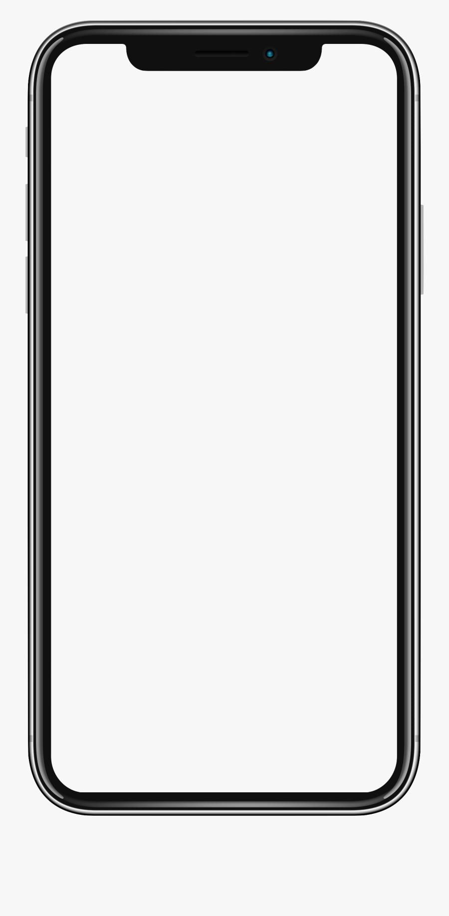 Iphone 4 Wallpaper Png - Iphone Xs White Background, Transparent Clipart