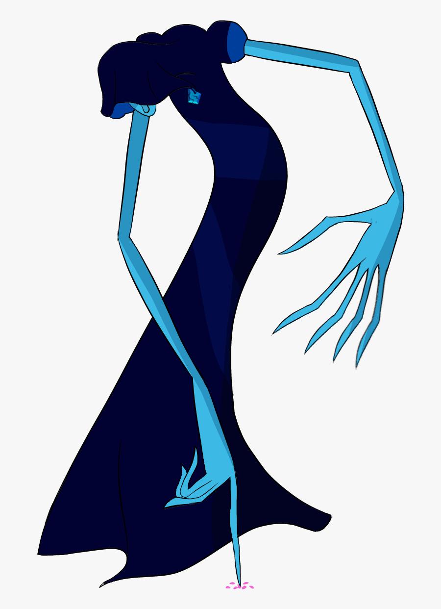 Bjgems Corrupted Saw Gaartes - Blue Diamond Steven Universe Diamonds, Transparent Clipart