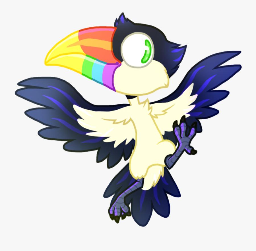 Chibi Clipart Bird - Chibi Toucan, Transparent Clipart