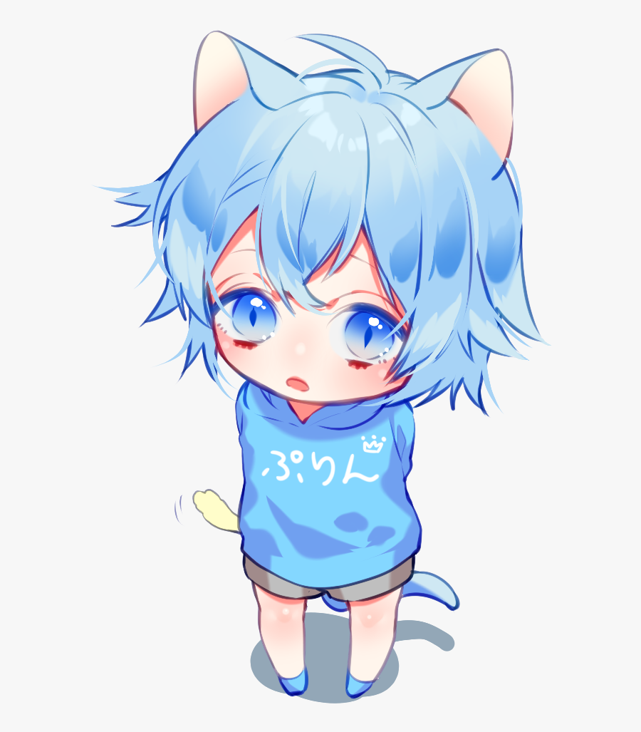 Fishing Clipart Anime Boy, Transparent Clipart