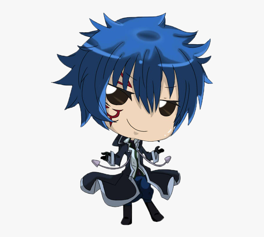 Chibi Clipart Fairy Tail - Jellal Fairy Tail Chibi, Transparent Clipart