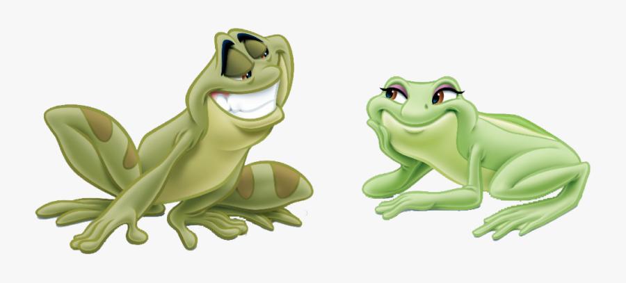 Princess And The Frog Png Transparent Princess And - Princess And The Frog Tiana Frog, Transparent Clipart