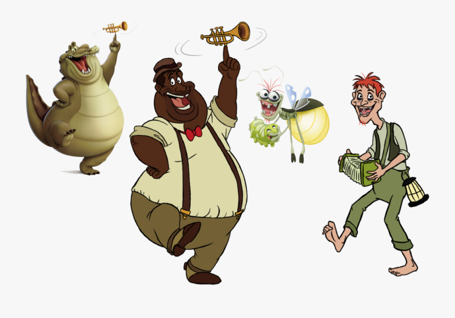 Princess And The Frog Louis Png Princess And The Frog Louis